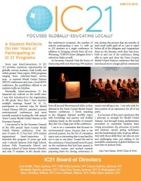 IC21 2016 winter newsletter