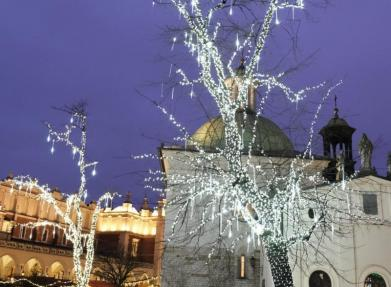 Winter Lights of Krakow - Macey Mott